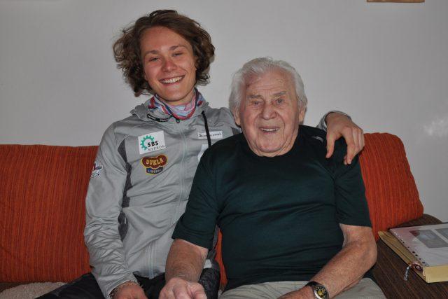 Děda a vnuk Šablaturovi