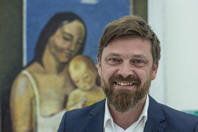 Ředitel Oblastní galerie Liberec Jan Randáček   foto: Radek Petrášek