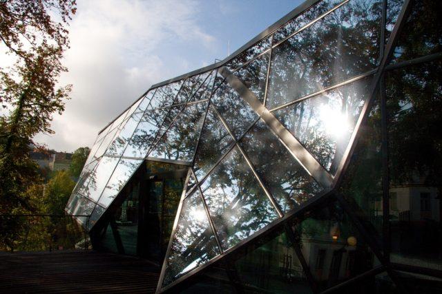 Jablonecký Krystal - jedna z osmi staveb s titulem Stavba roku 2020