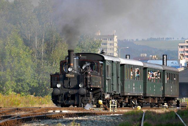 Litovel, Kafemlejnek nebo Babička - lokomotiva 310 0134 má mnoho přezdívek