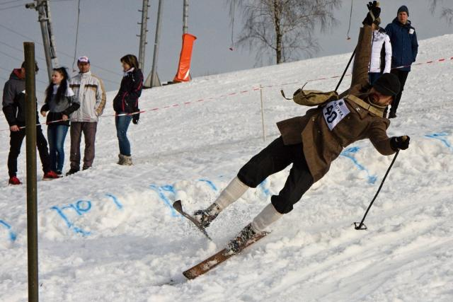 Pětadvacátý ročník Lyžníků ve Smržovce se i přes nedostatek sněhu vydařil