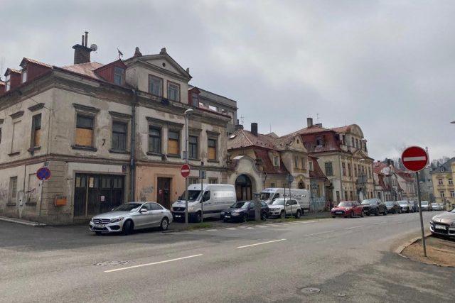 Chátrající areál v centru města dostane novou tvář   foto: Jana Pšeničková,  Český rozhlas