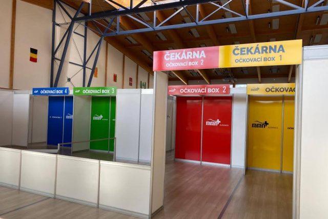 Očkovací centrum v jilemnické sportovní hale | foto: Jana Pšeničková,  Český rozhlas