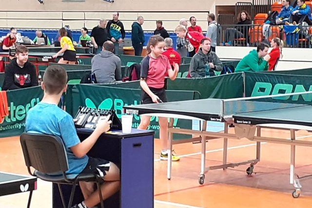 Liberec a Jablonec patřily bodovacím turnajů mládeže ve stolním tenise | foto: Pavel Petr,  Český rozhlas
