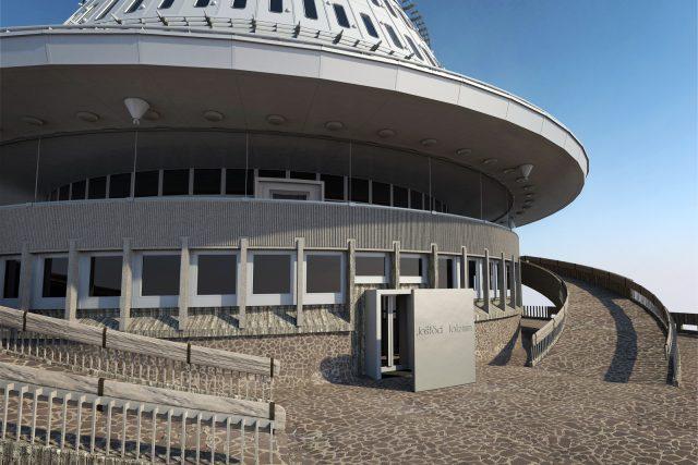 Rotační hyperboloid, který navrhl architekt Karel Hubáček, se na první pohled nezmění.