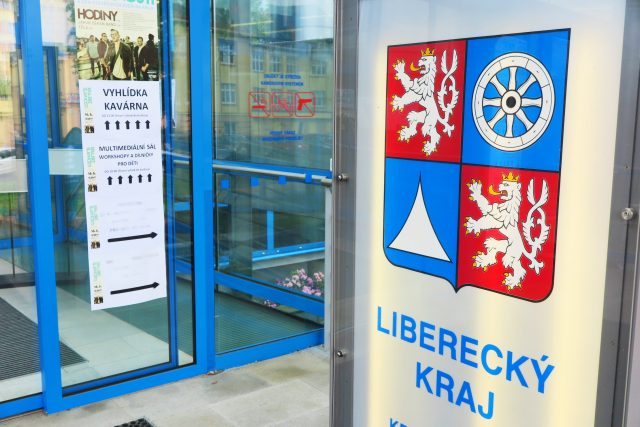 Liberecký kraj - budova úřadu