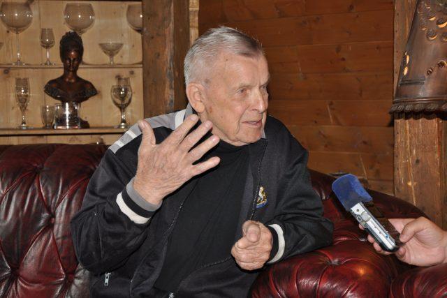 Vladimír Reichel při rozhovoru pro Český rozhlas Liberec | foto: Jaroslav Hoffmann