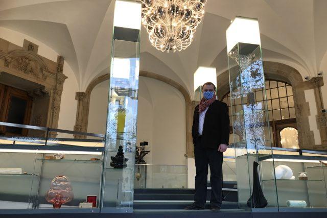 Naši reportérku provedl zrekonstruovaným Severočeským muzeem v Liberci jeho ředitel Jiří Křížek