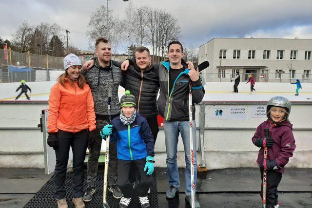 Semilské kluziště využívají i hokejisté
