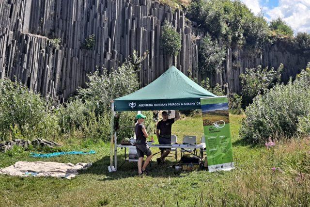 Na Panské skále v Kamenickém Šenově se sešli strážci přírody | foto: Eva Malá,  Český rozhlas