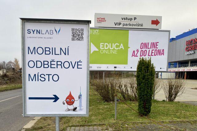 V Liberci vás z auta otestují na parkovišti u arény | foto: Jiří Jelínek,  Český rozhlas