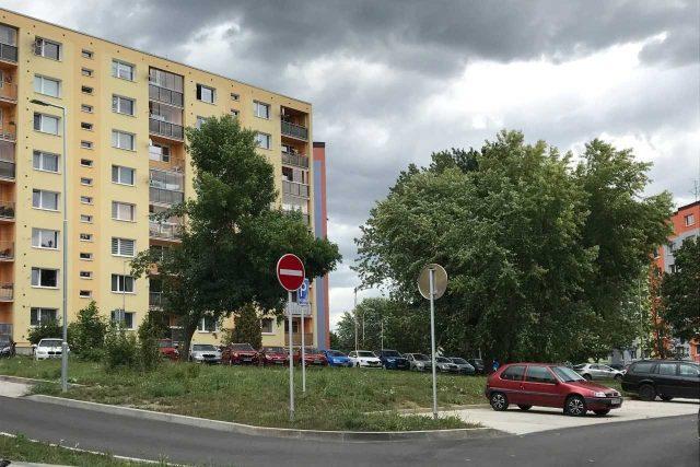 Vladimirská ulice na sídlišti Špičák v České Lípě | foto: Město Česká Lípa