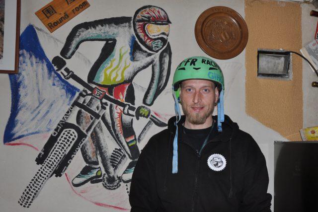 Bikeři mají s bobovou dráhou v Tanvaldu velké plány  (na snímku manažer DH FR Racing Tanvald Lukáš Černý) | foto: Jaroslav Hoffmann