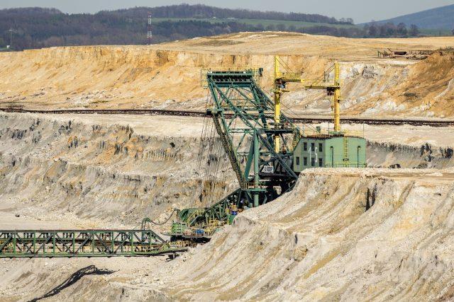 Hnědouhelný důl Turów v Polsku