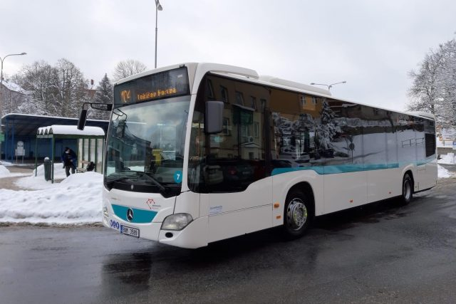 V Jablonci nad Nisou a okolí budou od února jezdit nové autobusy | foto: Šárka Škapiková,  Český rozhlas,  Český rozhlas