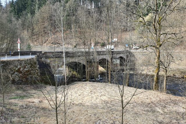 Historický most přes Jizeru v Poniklé | foto: Liberecký kraj