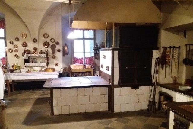 Zámecká kuchyně na Frýdlantu
