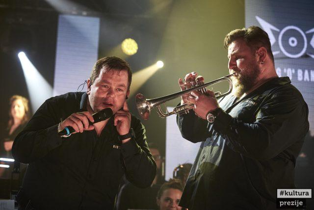 Marek Ottl se Zdeňkem Lorenzem na jednom z online koncertů | foto: Jiří Princ