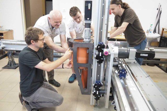 Na liberecké univerzitě vyvíjejí 3D tiskárnu pro stavebnictví