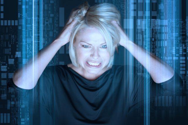 Stres, napětí, bolest hlavy (ilustr. foto)