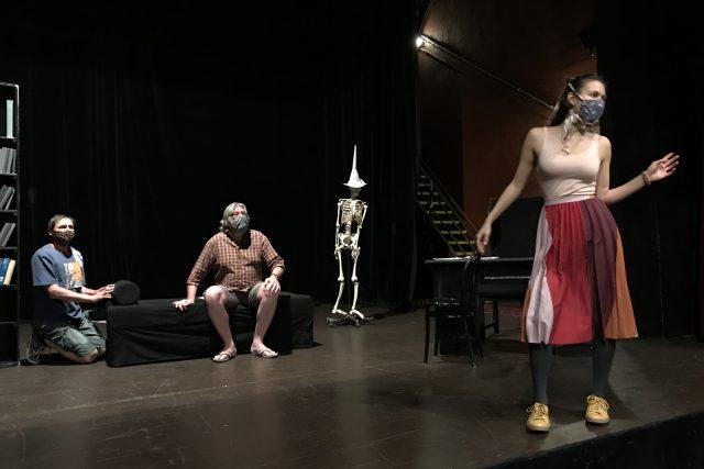 Herci Šaldova divadla zkouší na další díl online seriálu Operace Archa