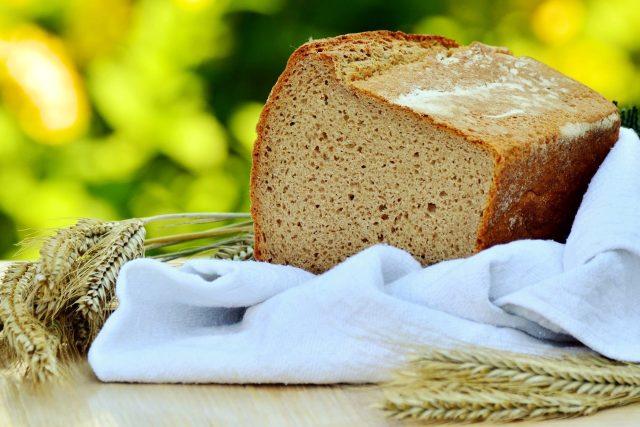 chléb, pšenice, obiloviny, cereálie, lepek, gluten, celiakie