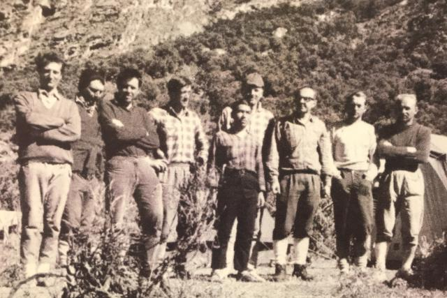 Reprodukce fotografie: Členové Expedice Peru 1970,  kteří na výpravě zahynuli | foto: Lucie Fürstová,  Český rozhlas