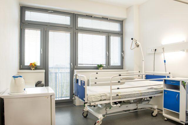 Takhle teď vypadají pokoje na oddělení chirurgie českolipské nemocnice