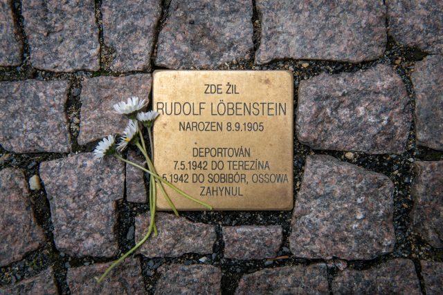 Kameny zmizelých připomínají oběti holocaustu v České Lípě | foto: Město Česká Lípa/Vít Černý
