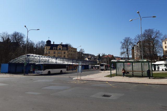 Autobusové nádraží v Jablonci nad Nisou