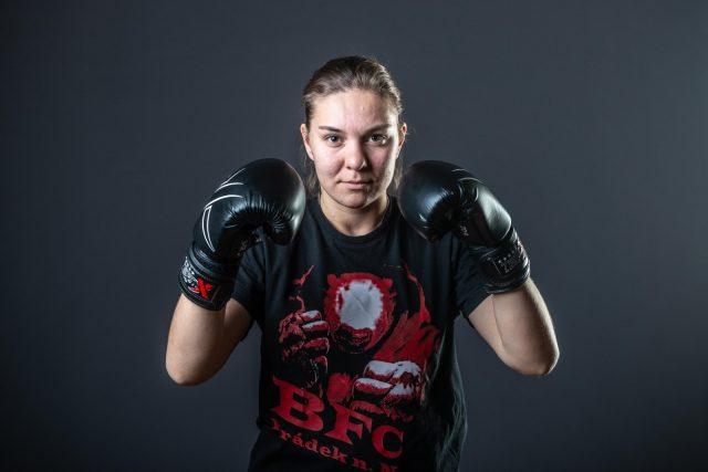 Kickboxerka Kateřina Peštová