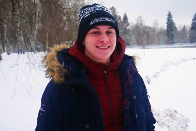 Plochodrážní závodník Daniel Šilhán