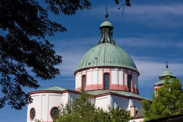 Bazilika sv. Vavřince a sv. Zdislavy v Jablonném v Podještědí | foto: Jaroslav Hoření,  Český rozhlas,  Český rozhlas