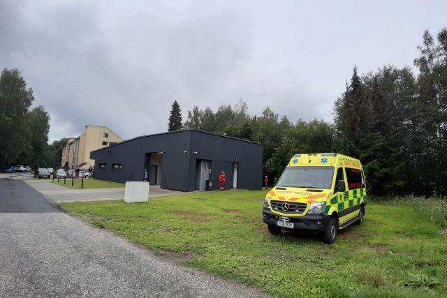 Nová základna Zdravotnické záchranné služby Libereckého kraje v Rokytnici nad Jizerou