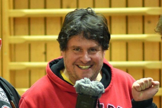 Sportovní redaktor Pavel Petr