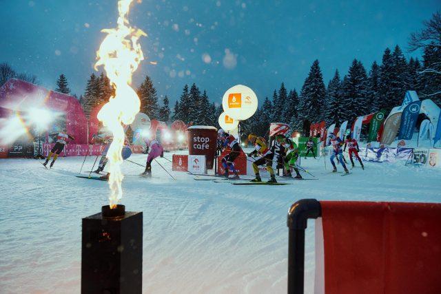 Triumfem švédských lyžařů skončil sprint na úvod 54. ročníku Jizerské 50 | foto: Jakub Nedbal