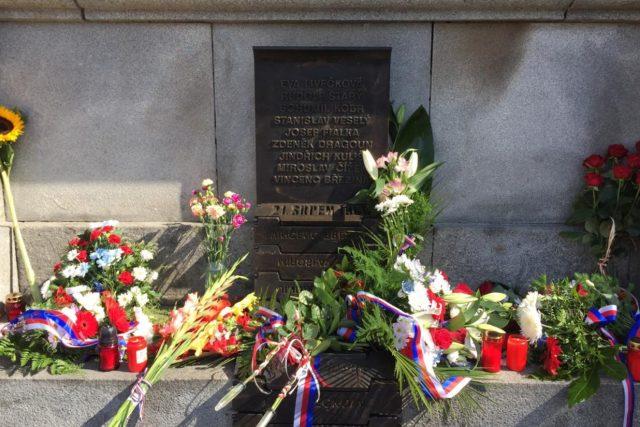 Pomník obětem okupace na libereckém náměstí   foto: Lucie Fürstová,  Český rozhlas