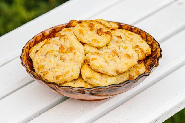 Žravé bramborové placky se škvarky od Anny Bednářové z Chlumu u Třeboně