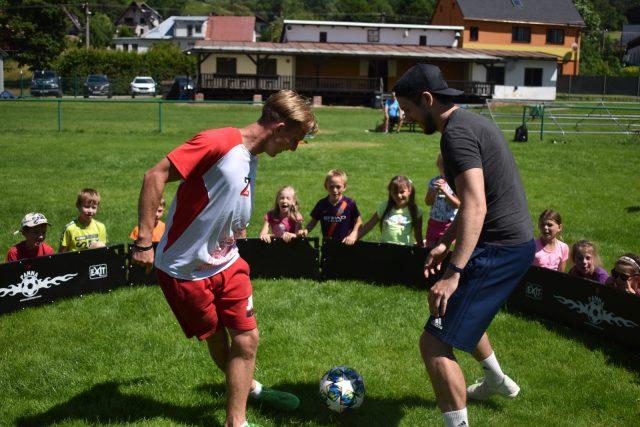 Fotbal se dá hrát i ve dvou