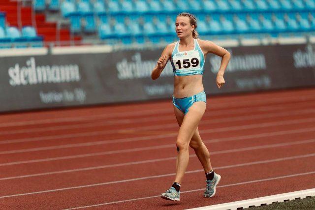 Turnovská atletka Eliška Martínková | foto:  Jiří Kottas