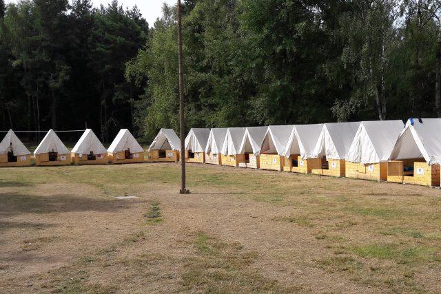 dětský tábor Tis u Blatna