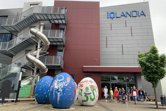 iQlandie se stala symbolem libereckého kraje, spolu s Ještědem a zoo s bílými tygry