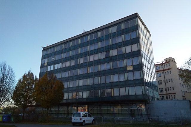 Úřednická budova Uran v Liberci