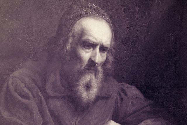 Jan Amos Komenský (1592 - 1670) , pedagog, reformátor, spisovatel a filozof, zakladatel moderní evropské pedagogiky - autor Jaroslav Čermák