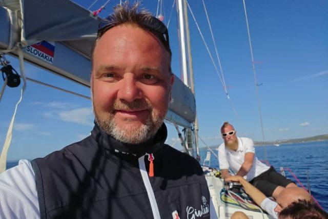 Jan Johan Hirnšal se věnuje jachtingu od pěti let