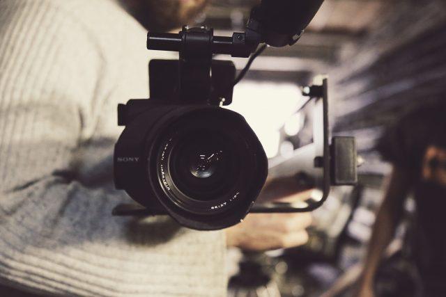 Film, filmař, natáčení, kamera (ilustrační foto)