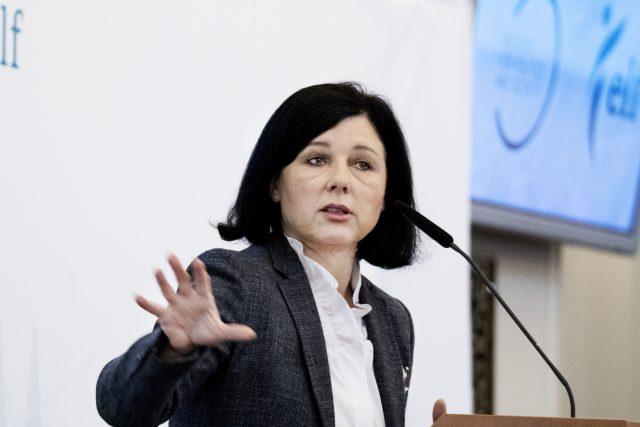 Věra Jourová   foto: Michaela Danelová,  iROZHLAS.cz
